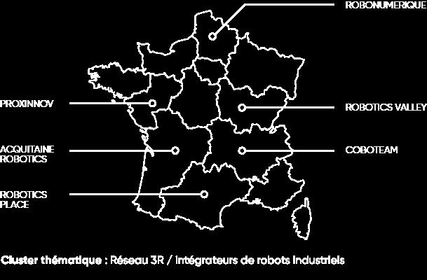 Carte Fédération Française de Robotique